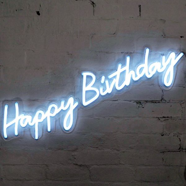 best neon neon led led neon signs happy birthday home decor signs