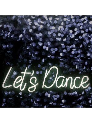 Let's Dance LED Light Sign