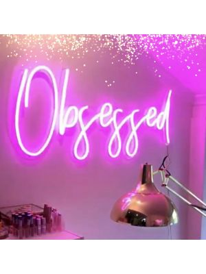 * To the Moon * Neon Signs for the Bedroom - photo from CustomNeon.com