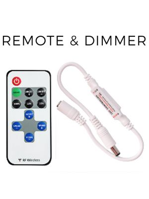 Remote and Dimmer