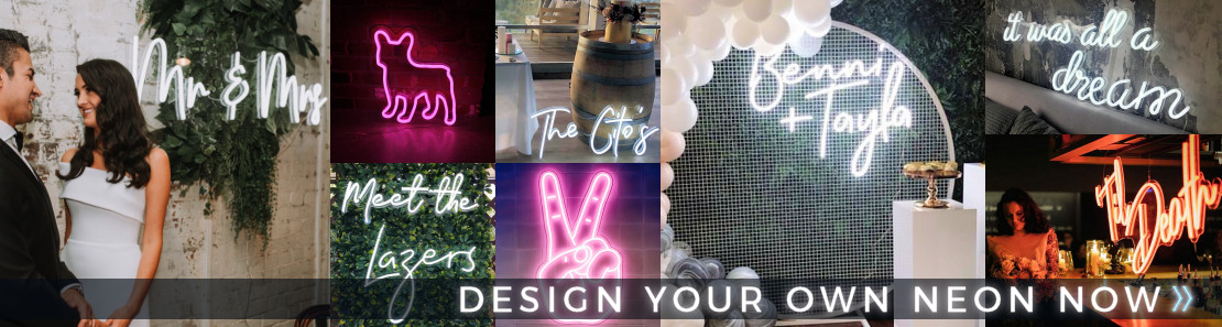 Design your own custom neon